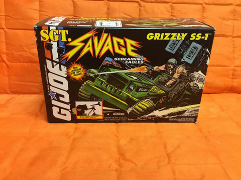 1994 Gi Joe SGT Savage SS-1