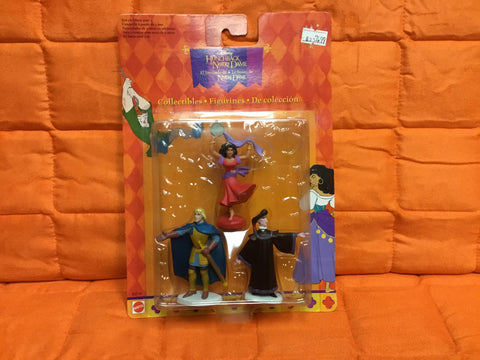 Disney's The Hunchback of Notre Dame collectibles - Esmeralda, Phoebus & Frollo figure