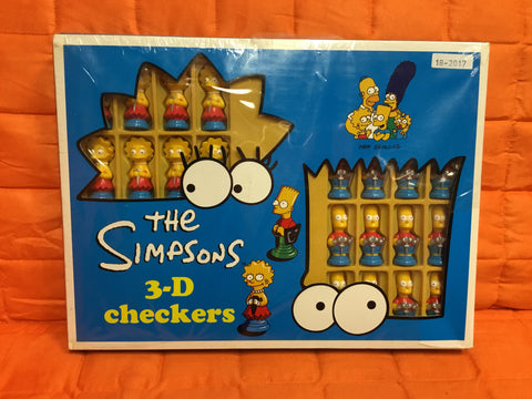The Simpsons 3D Checkers sealed