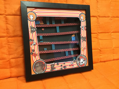 Donkey Kong Shadow Box