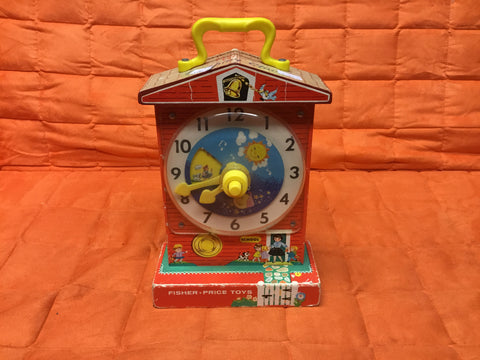 1968 Original Fisher Price Clock