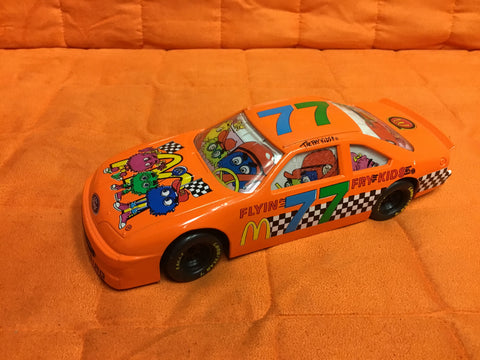 "Metal Diecast 1:24 Scale ""McDonaldland Racing Team"" Stock Car Replica Featuring The ""Flyin' Fry Kids"". 1994 Edition Bank..5"