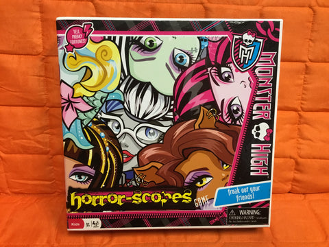 Monster High Horror Scopes Board Game