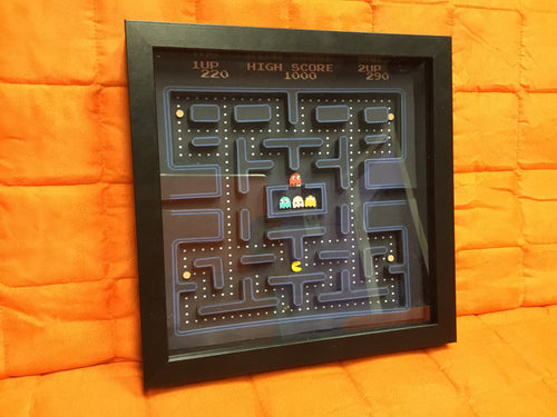 Pac-Man Shadow Box