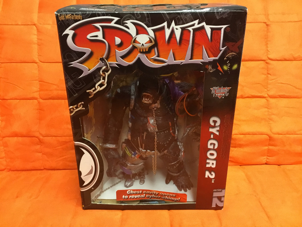 McFarlane Toys 1998 Series 12 Spawn CY-GOR 2 Ultra Action Figure