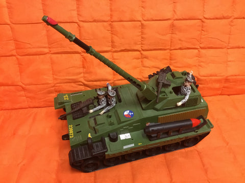 1986 The Corps Tank w/ 3 action figures complete very nice