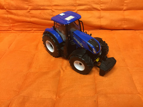 Blue Ertl diecast New Holland Tractor