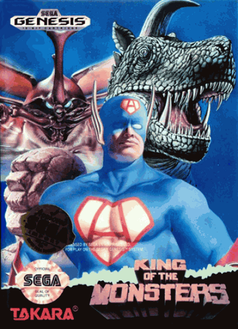 Sega Genesis King of the Monsters