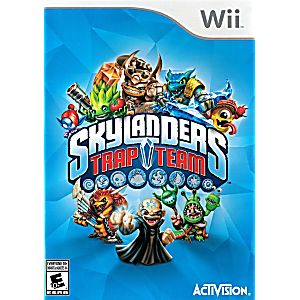 WiiU Skylanders Trap Team