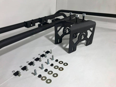 Red Summit Jeep JT (Gladiator) Modular Trail Rail Bed Mounting System, Bed Rack, Spare Tire Rack