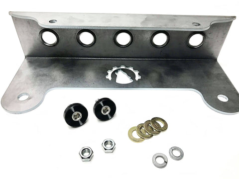 Jeep JL Quick Release Front License Plate Bracket