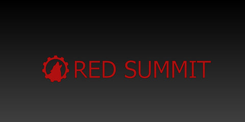Red Summit Horizonal Decal