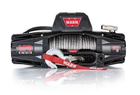 WARN VR EVO 10-S Winch for Jeep JL, Jeep JK, Jeep JT, Jeep CJ (Any Off-road Rig)