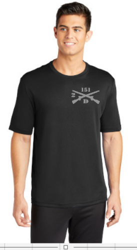 Black Moisture Wicking Short Sleeve