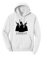 Load image into Gallery viewer, Nasty Women Dissent Unisex Hoodie (multiple colors)