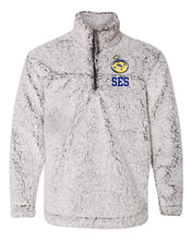 Load image into Gallery viewer, *NEW * SES Quarter Zip Sherpa Fleece