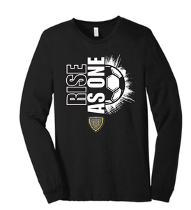 "Mt Vernon ""RISE AS ONE"" 2020 Soccer Sleeve T Shirt"