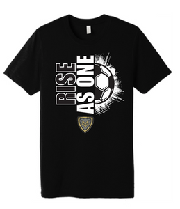 "Mt Vernon ""RISE AS ONE"" 2020 Soccer T Shirt"