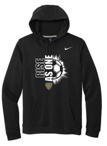 "Mt Vernon ""RISE AS ONE"" Soccer Nike Hoodie"
