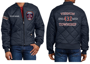 VTFD Big and Tall Dickies Quilted Jacket