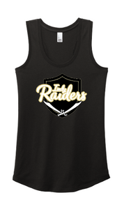 Raiders Women's Tri Blend Racerback Tank