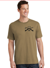 Load image into Gallery viewer, Coyote Brown Cotton T