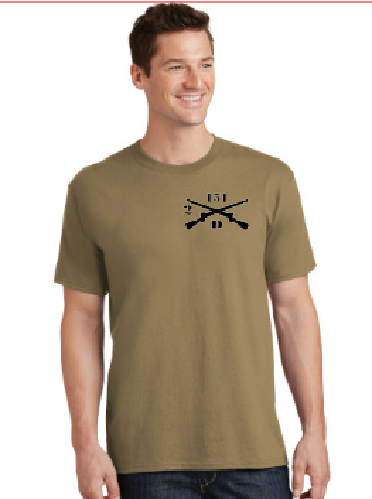 Coyote Brown Cotton T