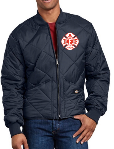 Big and Tall Local 4416 Quilted Jacket
