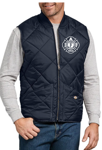 Big and Tall Local 4416 Quilted Vest