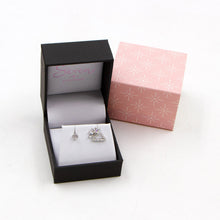 Load image into Gallery viewer, 925 silver cz cloud and sunshine stud earrings