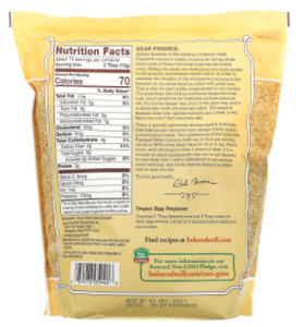 Organic Golden Flaxseed Meal - Addon to any Subscription Only!