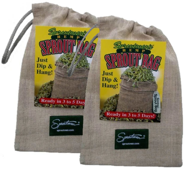 2 Hemp Sprouting Bags