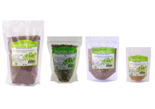 Monthly Seeds Sprouting Package - Subscription Only