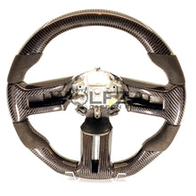 Load image into Gallery viewer, 2010-2014  Mustang Carbon Fiber Steering Wheel