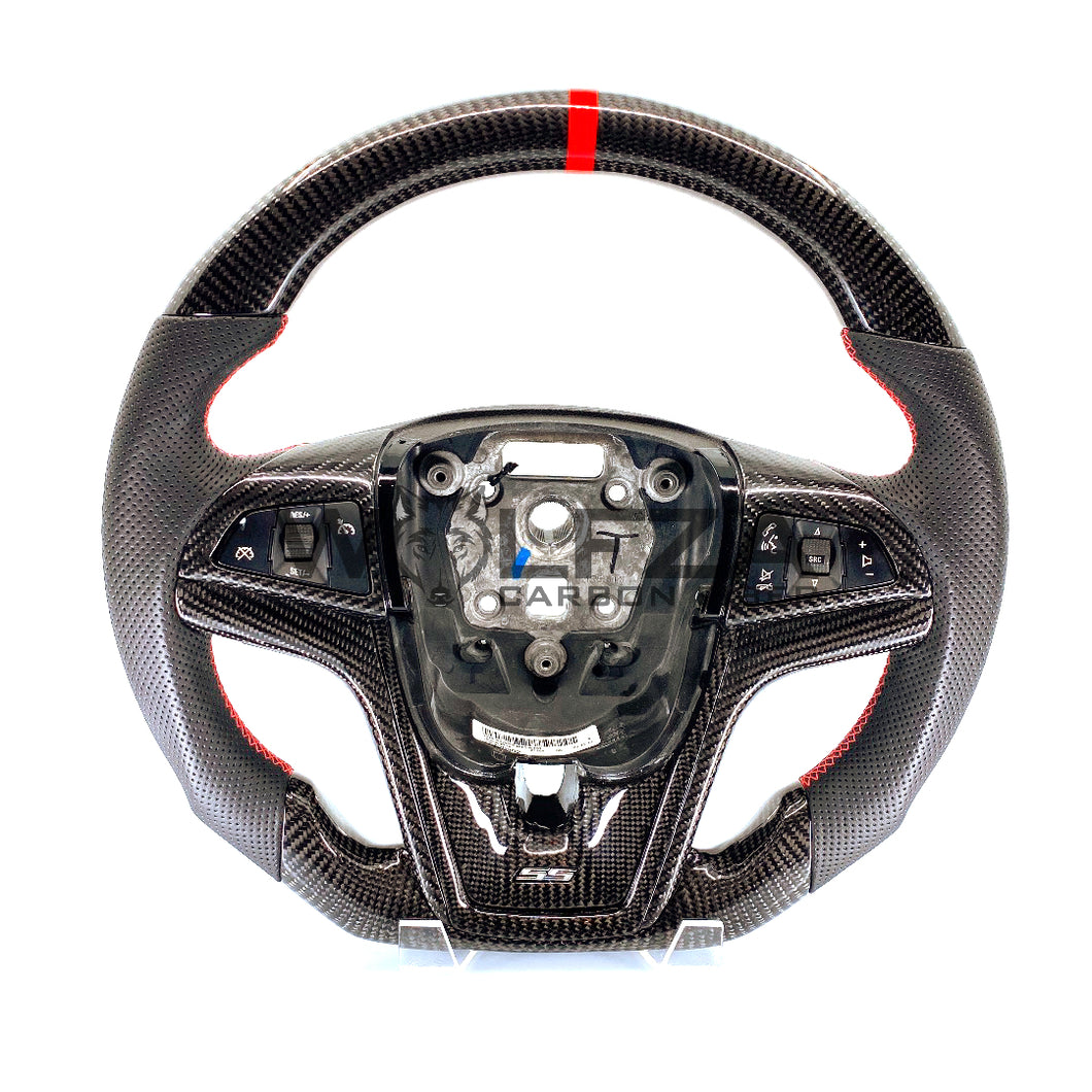 2012-2015 Camaro Custom Carbon Fiber Steering Wheel