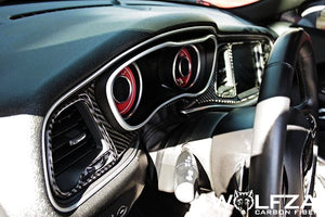 Dodge Challenger Carbon Fiber Dash Kit