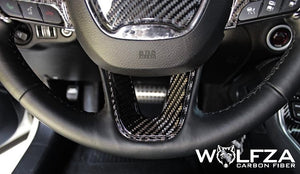 Dodge Steering Wheel Carbon Fiber Trim Kit