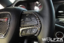 Load image into Gallery viewer, Dodge Steering Wheel Carbon Fiber Trim Kit