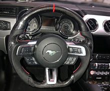 Load image into Gallery viewer, 2018-2020 Mustang Carbon Fiber Steering Wheel