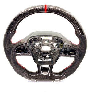 2015-2018 Focus ST Honeycomb Carbon Fiber Steering Wheel