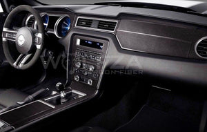 Carbon Fiber Full Interior Trim For 2010-2014 Mustang