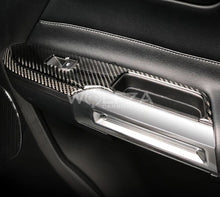 Load image into Gallery viewer, Carbon Fiber Window Control Trim(Pair) For 2015+ Mustang