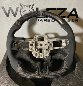 2015-2017 Mustang Carbon Fiber Steering Wheel