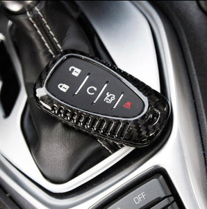 Carbon Fiber Key Fob Case For 2016-2020 Camaro