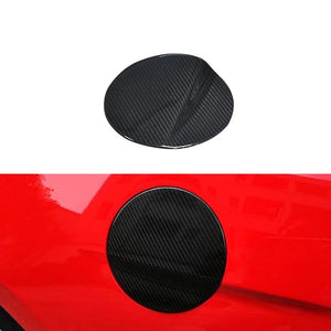 Carbon Fiber Fuel Lid Cover For 2015-2020 Mustang