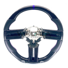Load image into Gallery viewer, 2005-2009 Mustang Carbon Fiber Steering Wheel