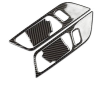 Load image into Gallery viewer, Carbon Fiber Center Door Handle Trim For 2015+ Mustang