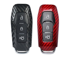 Carbon Fiber Key Fob Case For 2015-2020 Mustang