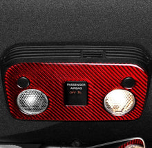 Load image into Gallery viewer, Carbon Fiber Dome Light Trim For 2015-2019 Mustang