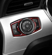 Load image into Gallery viewer, Carbon Fiber Headlight Switch Trim For 2015-2019 Mustang